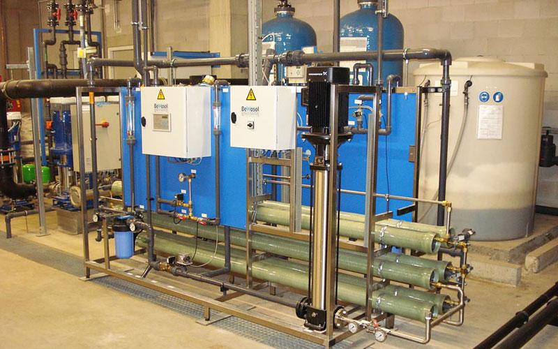 2 stuks omgekeerde osmose t.b.v. productie ketelvoedingwater en CSA